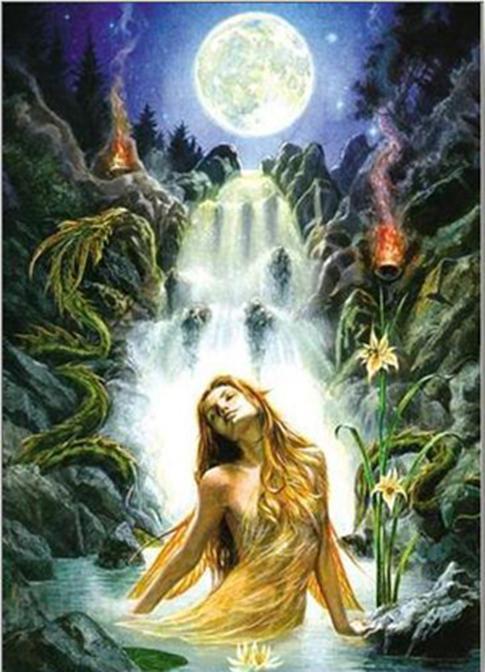 The Spirit Of The Goddessis Mijn Rituelen Viering Maan